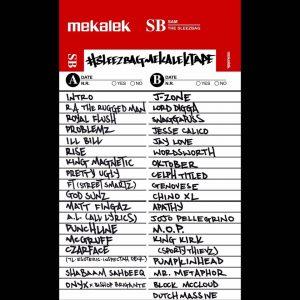 album cover for the #SleezbagMekalekTape